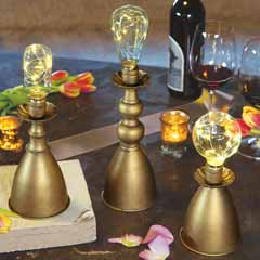 Metalworks Lamp Trio