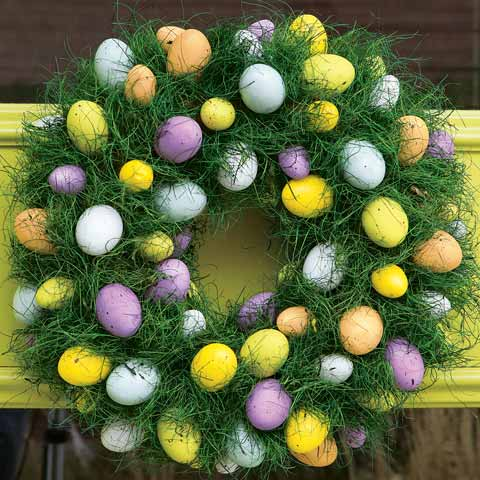 Egg Hunt Wreath