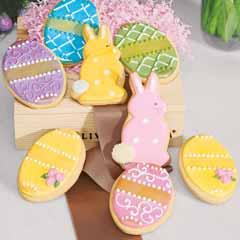 Elegant Easter Cookie Crate