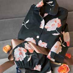 Midnight Bloom Pajamas