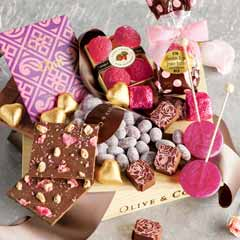Pink & Cocoa Sweets Crate