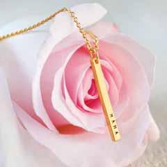 Mama Pillar Necklace