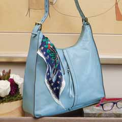 Zephyr Leather Tote