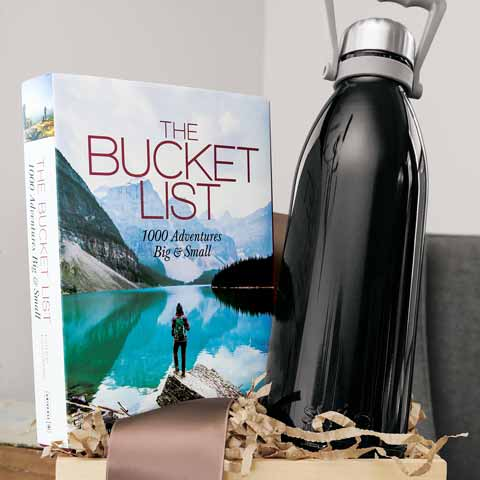 Adventure Book & Bottle