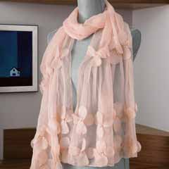 Blush Blossom Scarf