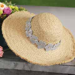 Viola Raffia Sun Hat