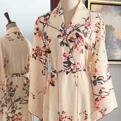 Silken Petal Robe