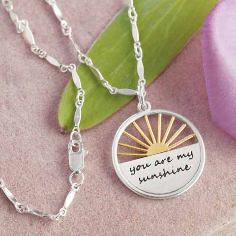 034aa1ea1e4335 My Sunshine Necklace, All Gifts: Olive & Cocoa