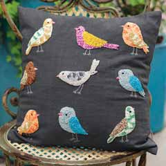 Flock Of Friends Pillow