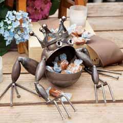 Prince Frog Sculpture