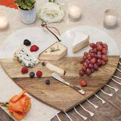With Heart Serving Board