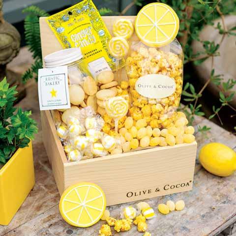 Lemon Sweets Crate