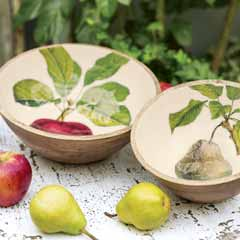 Orchard Serving Bowls