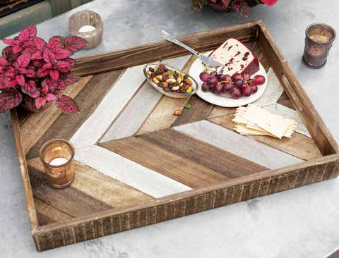 Hudson Wood Serving Tray