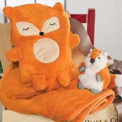 Friendly Fox & Blankie