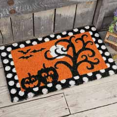 Rising Moon Door Mat