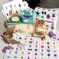 Monstrously Fun Bingo & Treats Crate