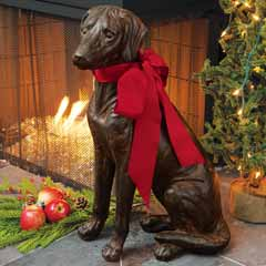 Cookie The Lab Statue