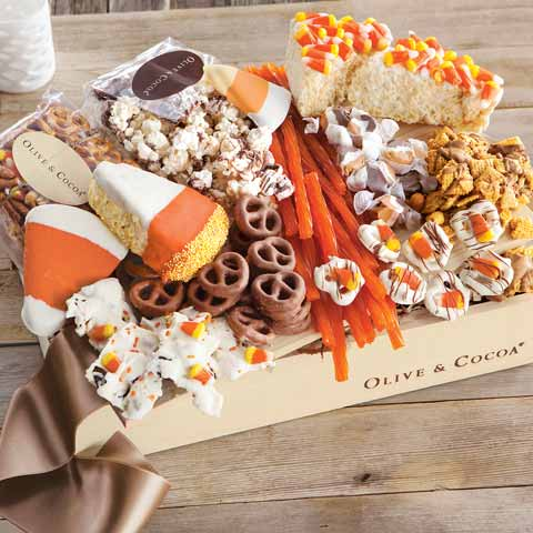 Candy Corn & Treats Crate