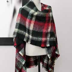 Highlands Plaid Wrap