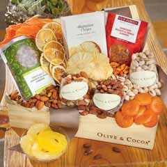 Gourmet Fruit & Nut Crate