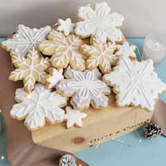 Snowflake Cookie Crate