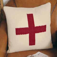 Ski Patrol Wool Pillow