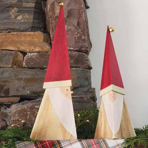 Nouveau Santa Claus Duo