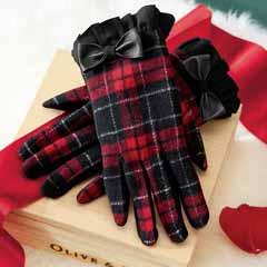 Adelaide Plaid Gloves
