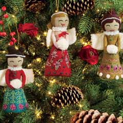 ANGEL TRINITY ORNAMENTS
