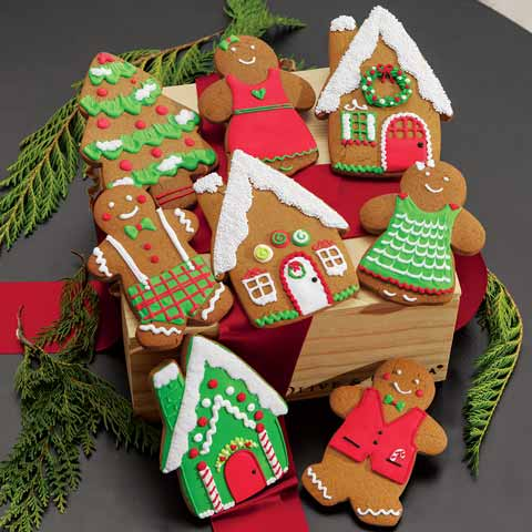 Gingerbread Village Crate