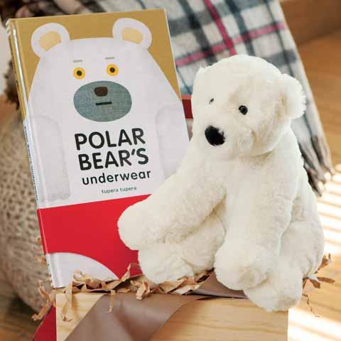 Puffy Polar Bear & Storybook