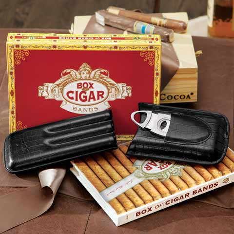 Alejandro Cigar Holder & Book