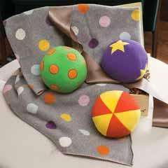 Chime Balls & Happy Dots Blankie