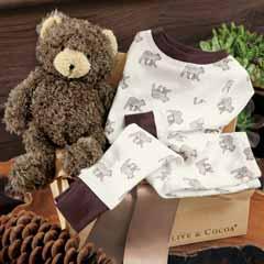 Fuzzy Bear & Pajamas