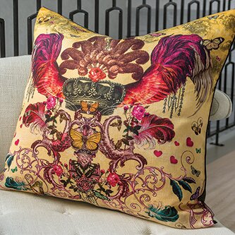 Victorian Monarch Pillow