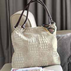 Crocodile Hide Tote