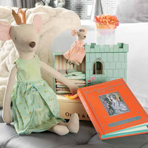 Mouse Princess Play Set & Storybook