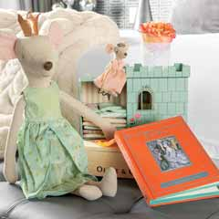 Mouse Princess Play Set & Storybook