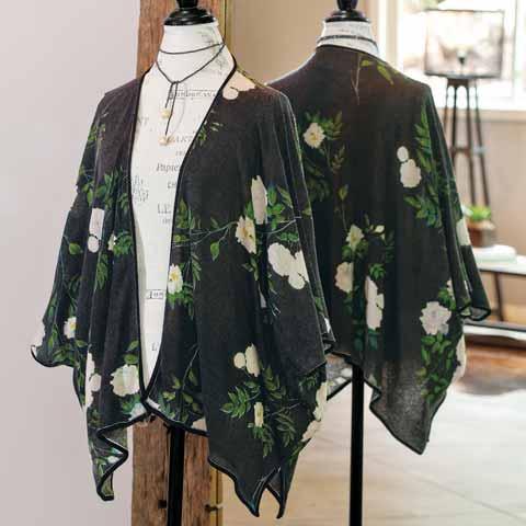Nightfall Cashmere Kimono