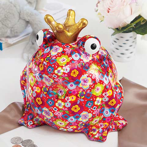 Royal Fleur Froggy Bank