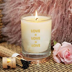 Love Is Love Candle Set