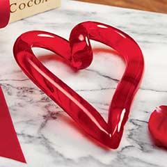Infinity Glass Heart