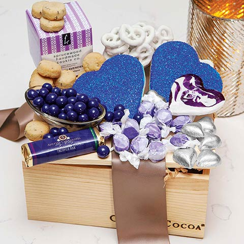Violet Sucre Crate