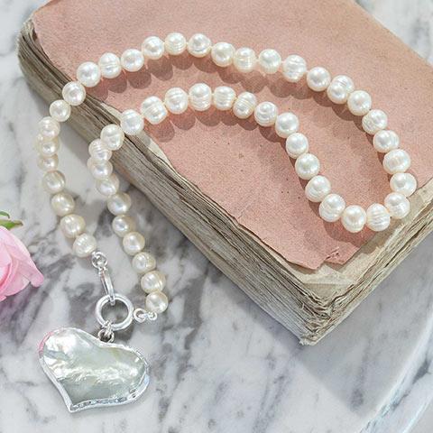 Sweetheart Pearl Pendant