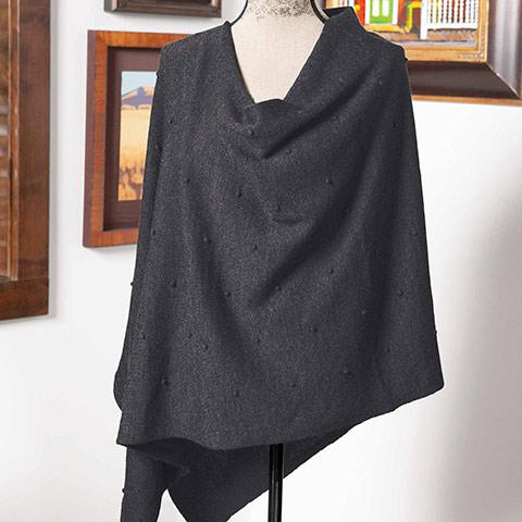 Maclaren Wool Poncho