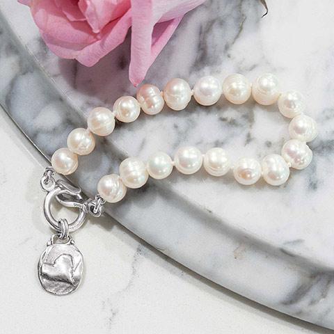 Charmed Pearl Bracelet