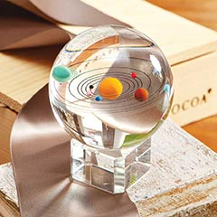 Across The Universe Paperweight
