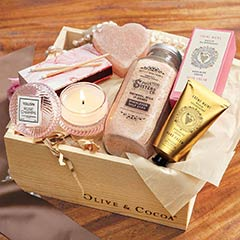 Rosy Relaxation Spa Crate