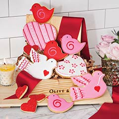 Lovebirds Cookie Crate
